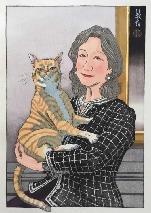 Paul Binnie Elise's Cat 1967