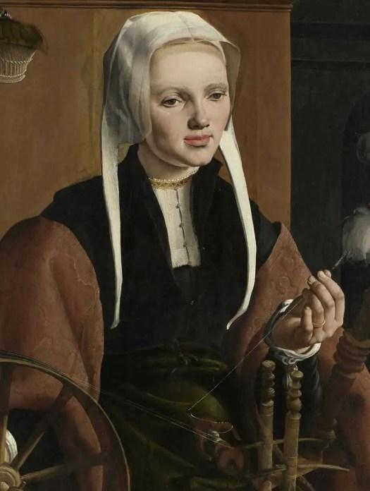 Portrait of a Woman, possibly Anne Codde, Maarten van Heemskerck, 1529