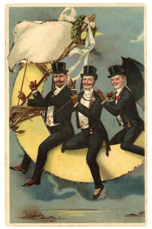 Prosit New Year ', prosit ', cheers ', cheers Dandy
