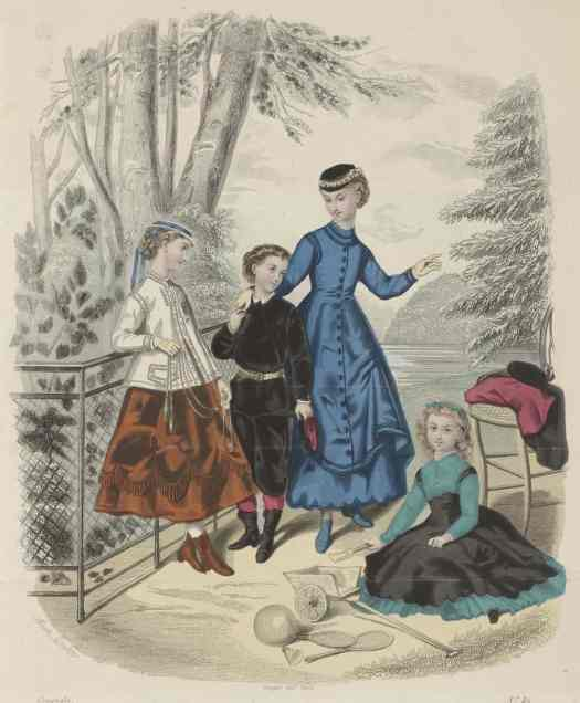 The Young Ladies' Journal, 1 May 1868, No. 49, Anaïs Colin-Toudouze, 1868