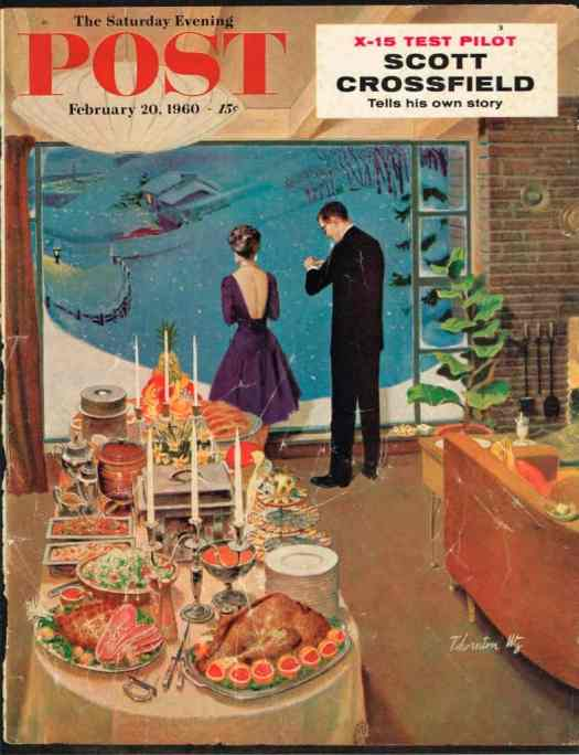 Thornton Utz, cover for The Saturday Evening Post  February 20, 1960