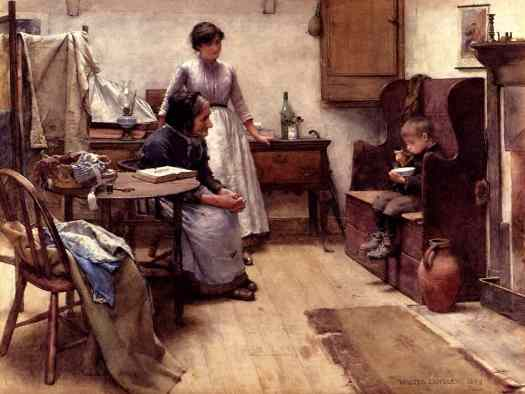 Walter Langley - The Orphan