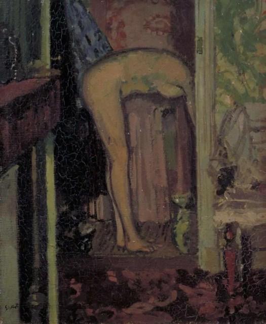 Walter Richard Sickert Woman Washing her Hair 1906