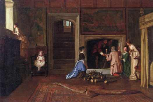 William Frederick Yeames - The Jacobites Escape the Punch Room at Cotehele House, Cornwall