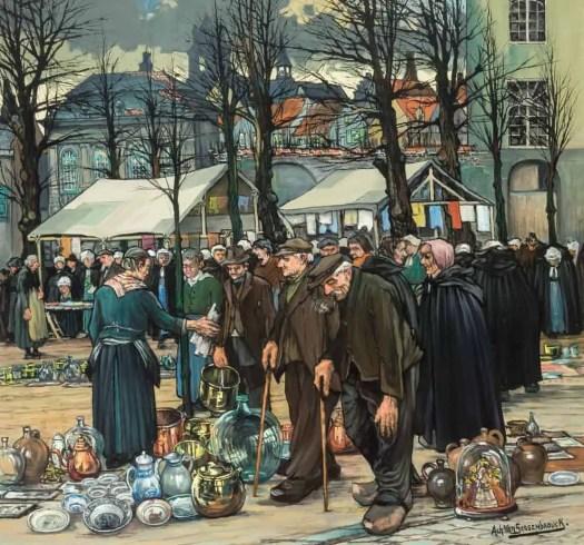 Achiel Van Sassenbrouck market