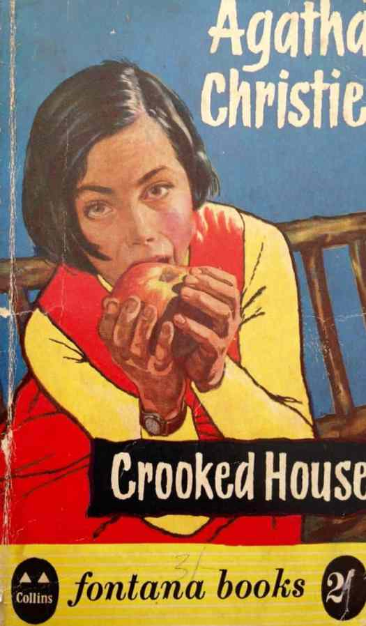 Agatha Christie Crooked House apple cover