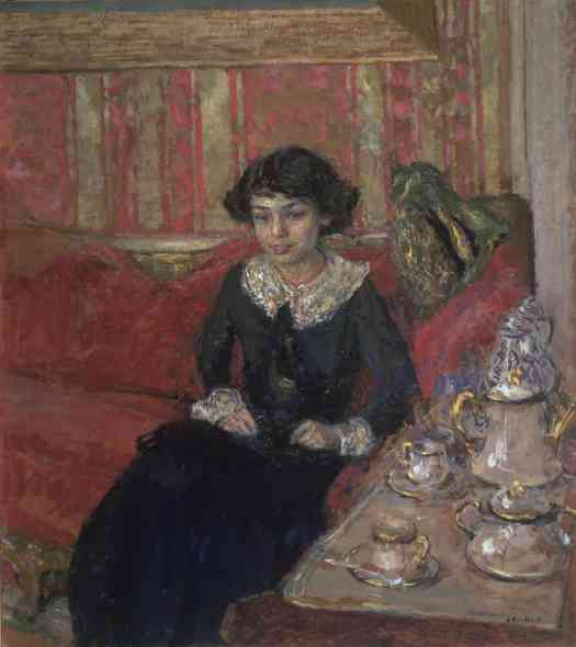 Edouard Vuillard Girl in an Interior c.1910