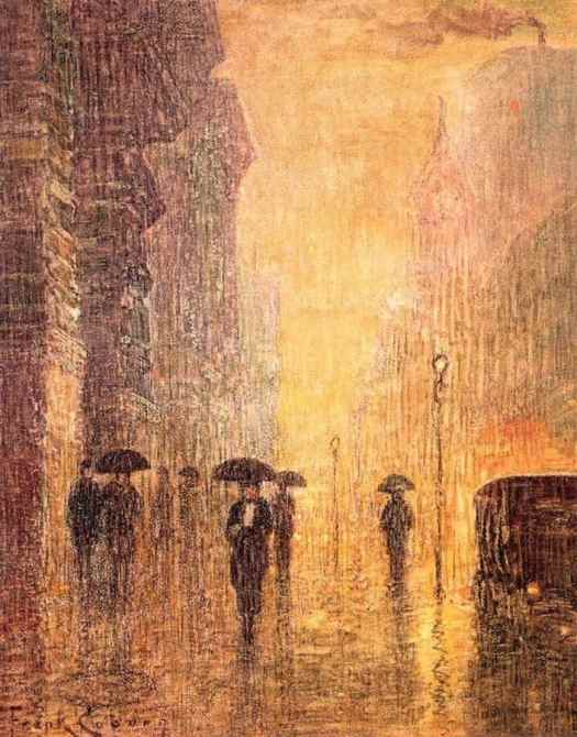 Frank Coburn, 1925 rain