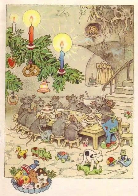 Fritz Baumgarten underground mice