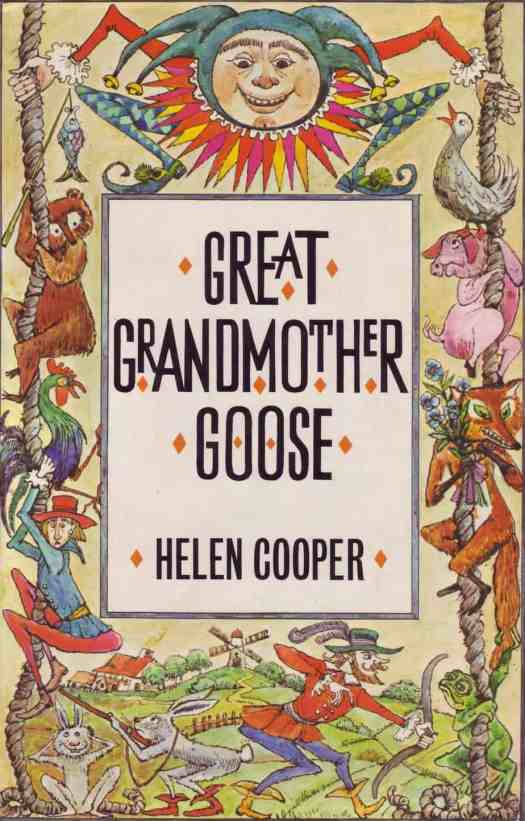 Great Grandmother Goose by Helen Cooper, illustrated by Krystyna Turska, Hamish Hamilton, London 1978 cover