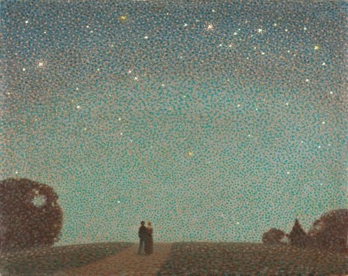 Sir Claude Francis Barry - Over the Horizon - a Jersey Nocturn stars