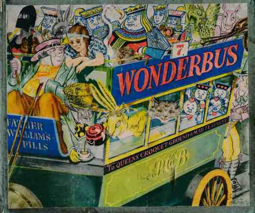 Wonderbus 7,Perry Colour Books Ill. Leslie Butler, pub. Powell Perry c1942-44, Putney UK