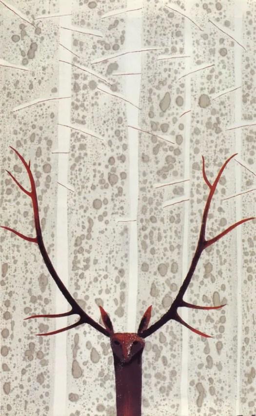 Zhang Zhen Qi, Glen (Heilongjiang Province, China, undated antlers symmetry