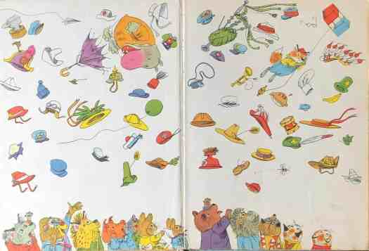 endpapers from Richard Scarry's Great Big Air Book, 1971