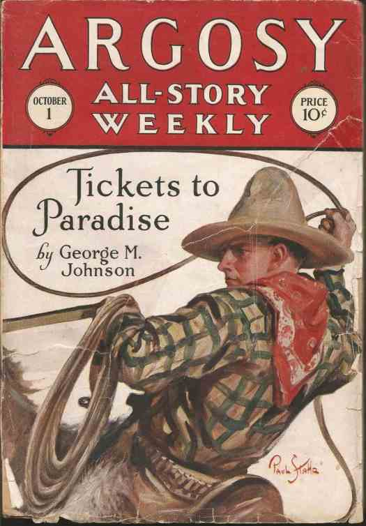 magazine cover from 1927
