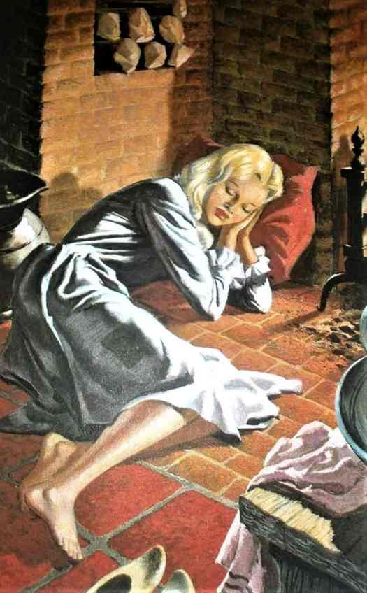 Eric Winter (1905 - 1981) 1964 illustration for the Ladybird edition of Cinderella