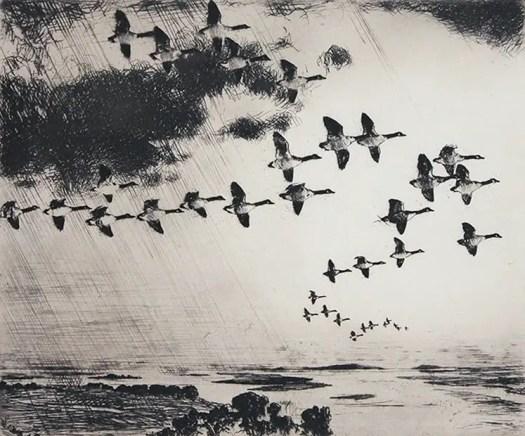 Frank Weston Benson, The Long Journey, 1926
