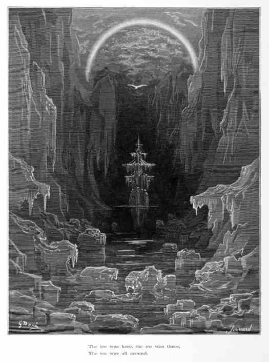 Gustave Doré for The Rime of the Ancient Mariner