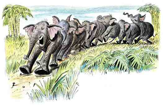 from 'Goliath II' by Bill Peet (1915-2002) elephant