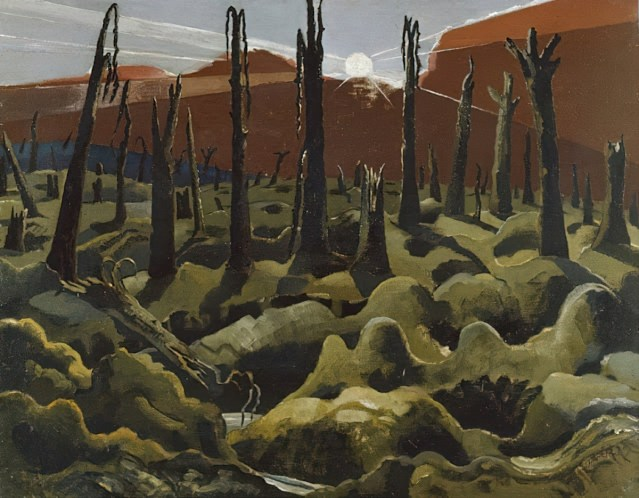 1918 We Are Making a New World, Paul Nash, UK