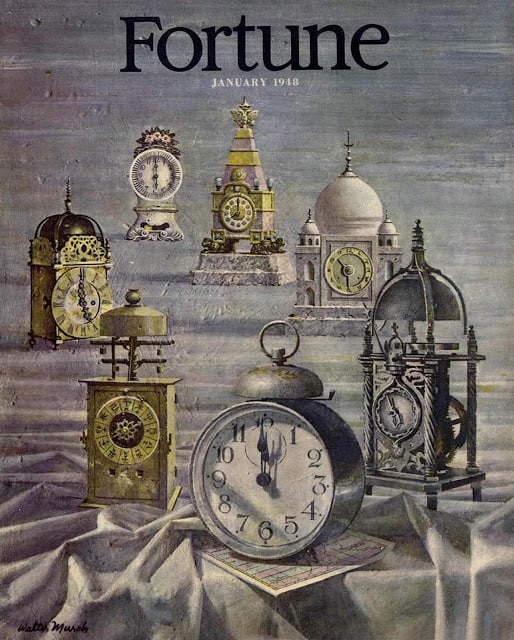 1948 January, cover by Walter Murch time