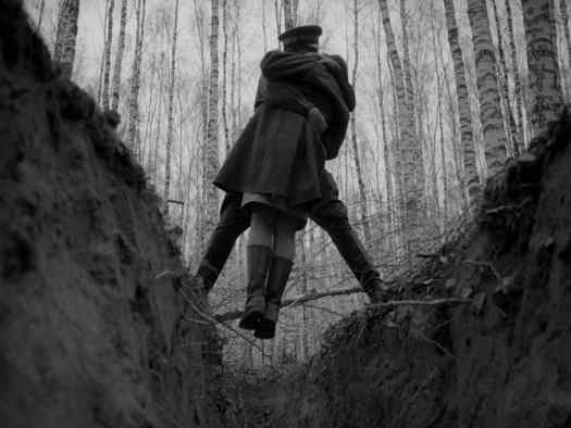 IVAN'S CHILDHOOD ANDREI TARKOVSKY (1962)  trench