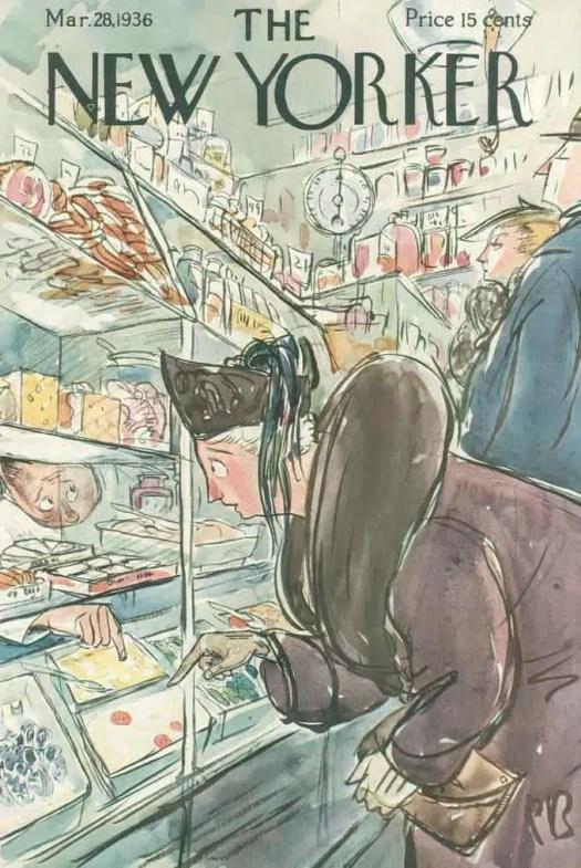 Perry Barlow (1892-1977) 1936 cake shop