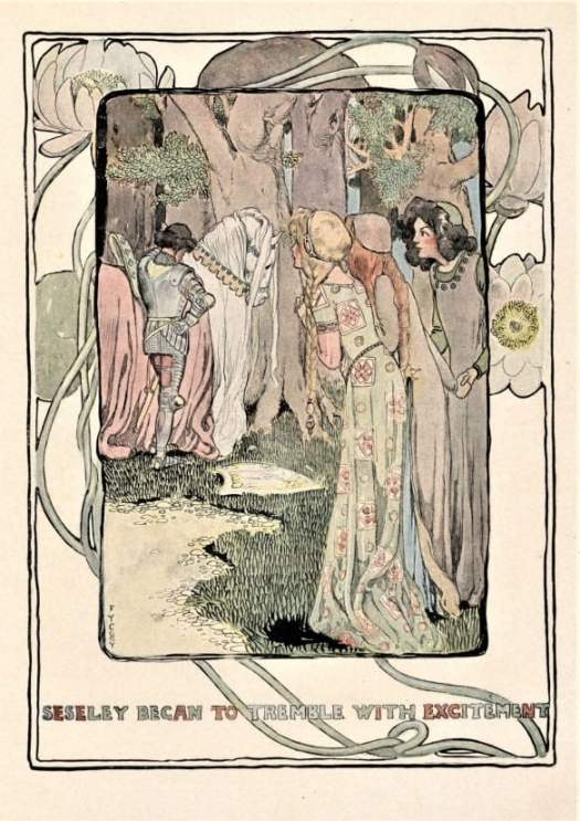 The Enchanted Island of Yew (1903) written by L Frank Baum illustrated by Fanny Young Cory