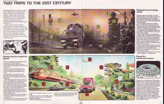 Welcome to the 21st century! The World Of Future Cities. Usborne Books, 1979