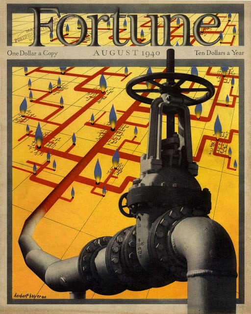 1940 July, cover by Allen Saalburg pipes