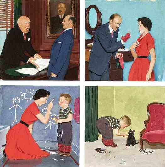 Anger transference, (c.1954), Richard Sargent