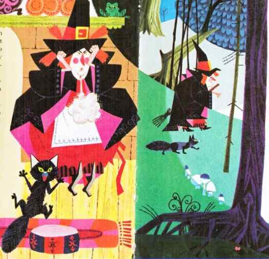 Fairyland Annual 1969 Stories By Joan Fisher, Illustrations By Hutchings, 1968 witch cat