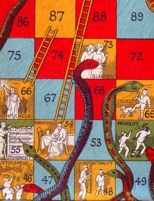 Snakes and Ladders sins