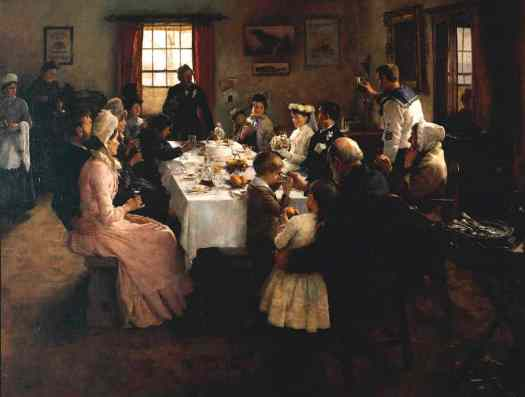 Stanhope Alexander Forbes - The Health of the Bride 1889