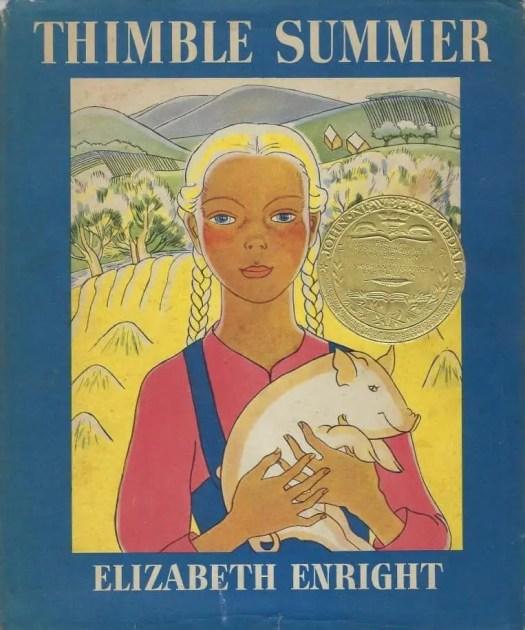 Thimble Summer by Elizabeth Enright pig