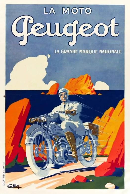 Roger Broders (1883 - 1953) 1928 travel poster illustration for India Railways