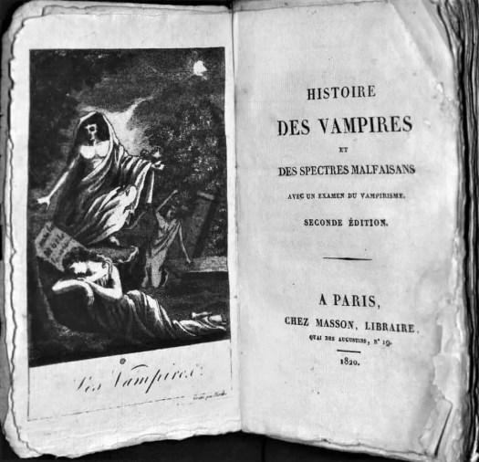 Histoire des vampires frontispiece