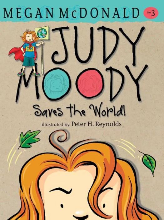 Judy Moody Saves The World Megan McDonald book cover