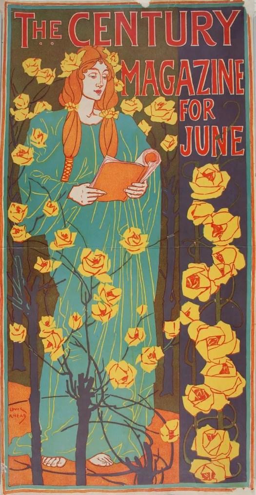 Louis Rhead The Century Magazine for June