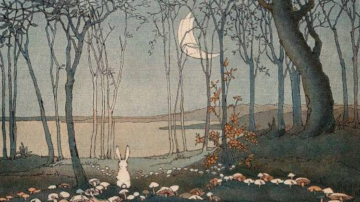 New Moon by Shirley Kite 1927
