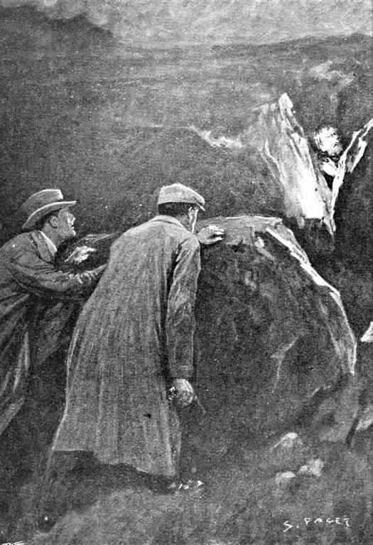 Sidney Paget (1860 - 1908) 1901 The Hound of the Baskervilles illustration for The Strand magazine