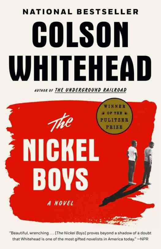 Colson Whitehead The Nickel Boys book cover