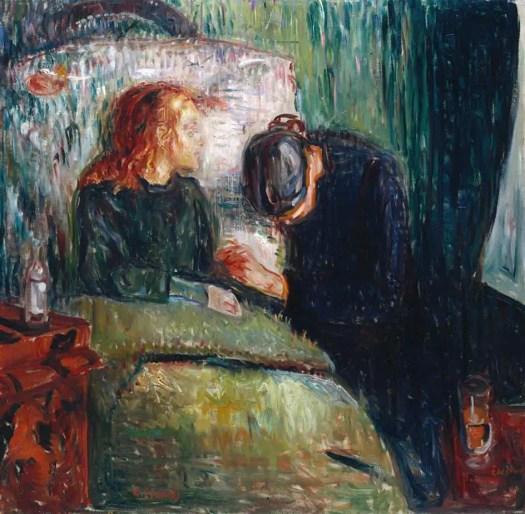 Edvard Munch The Sick Child 1907 convalescing