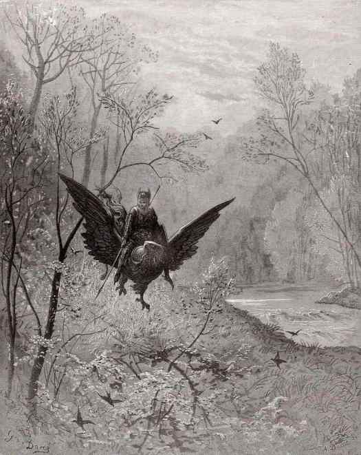 Paul Gustave Louis Christophe Doré from Orlando Furioso, Frenzy of Roland