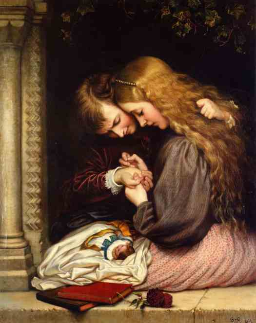 Charles West Cope - The Thorn 1866