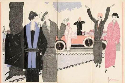 Elegant Modes 1922 Georges Lepape (1887-1971)