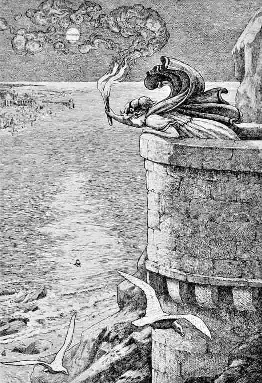 Frank C. Pape for Children of the Dawn Old Tales of Greece written by Elsie Finnimore Buckley 1908