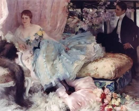 Henri Lucien Doucet - After The Ball 1889
