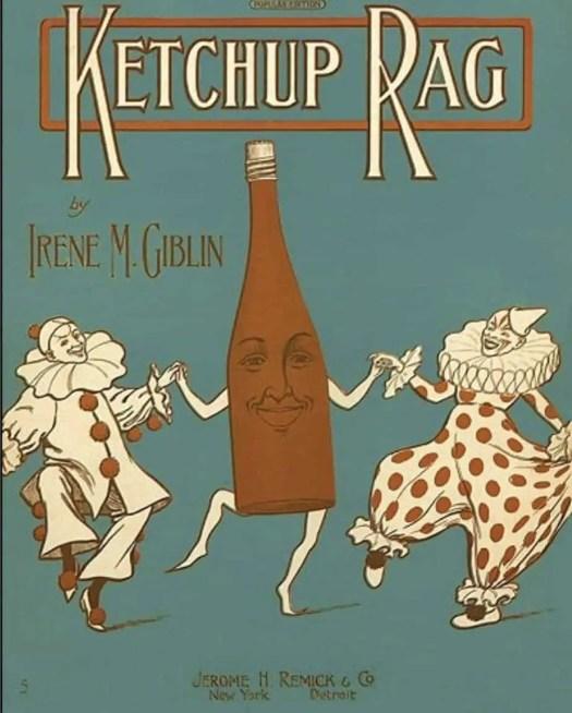 Ketchup Rag, by Irene M Giblin (1910)