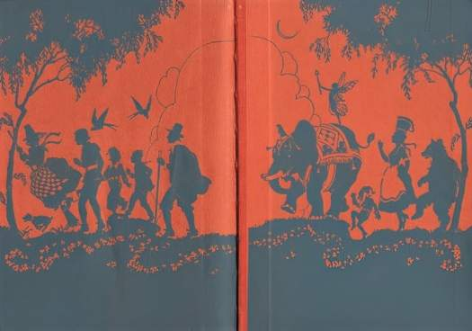Make and Make-Believe by Arthur I. Gates and Miriam Blanton Huber, Macmillan, 1931 endpapers